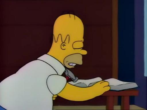 Los Simpsons 2x09 Tomy, Daly y Marge