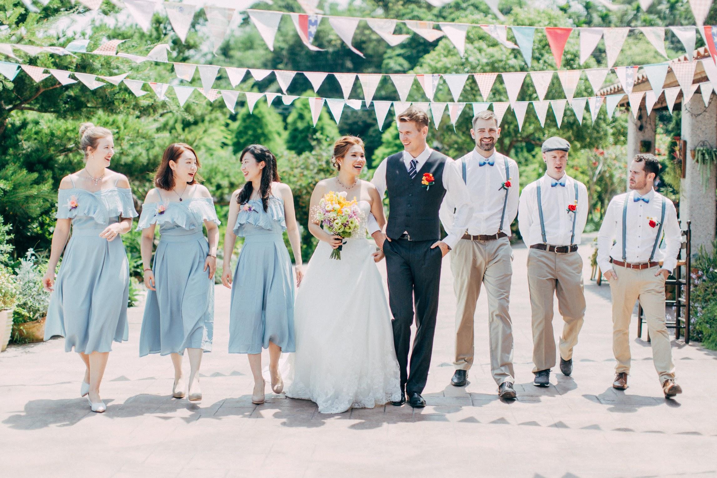 黛安莊園 Diane`s Garden 的小型婚禮派對