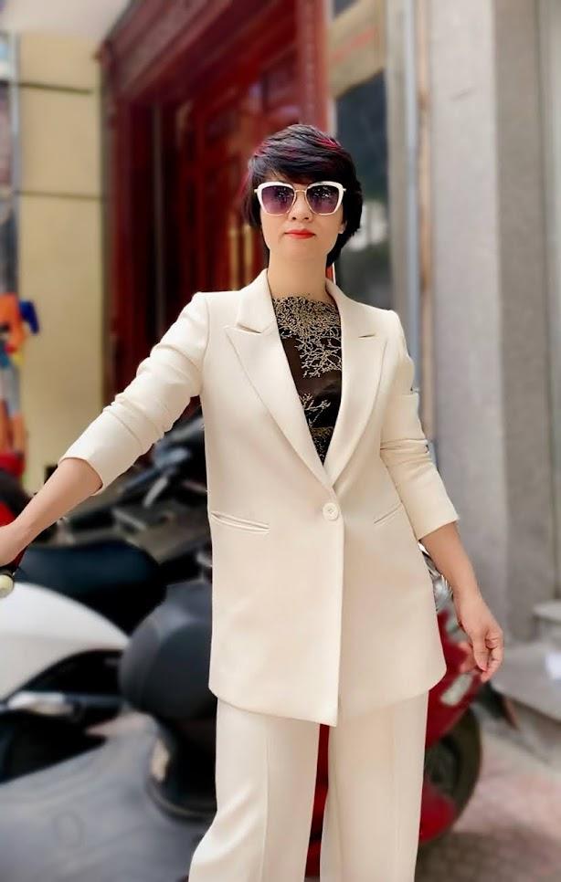 Áo vest nữ dáng suông và quần suông ống rộng V745 thời trang thủy ở sài gòn