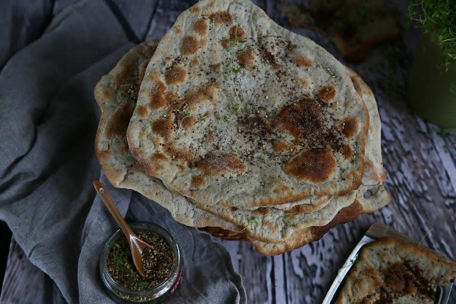 Taboon Bread with Za'atar