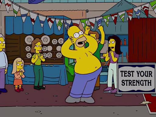 Los Simpsons 16x08 La Jugada Desesperada De Homero y Ned
