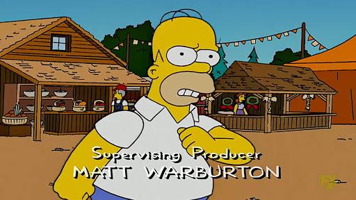 Los Simpsons 18x20 Para o mi perro dispara