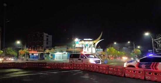 Perataan tahun baru 2021 di Ngawi jawa timur