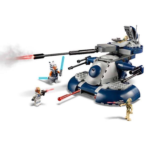 Contenido de Lego® 75283 Tanque Blindado de Asalto