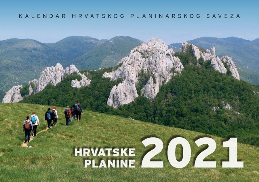 Naručite planinarski kalendar za 2021.
