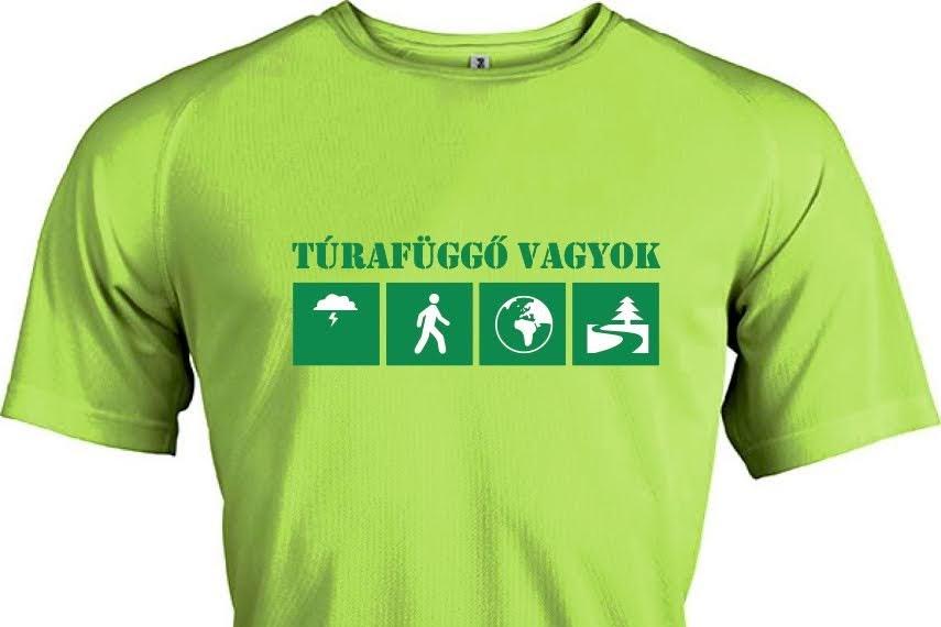 Túrafüggő technikai póló