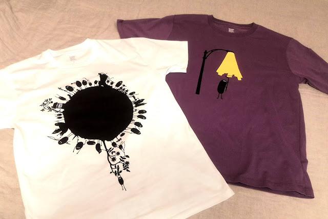 義姉夫婦にめっちゃゆるい「グラニフ」のTシャツをプレゼントされ、悶える。