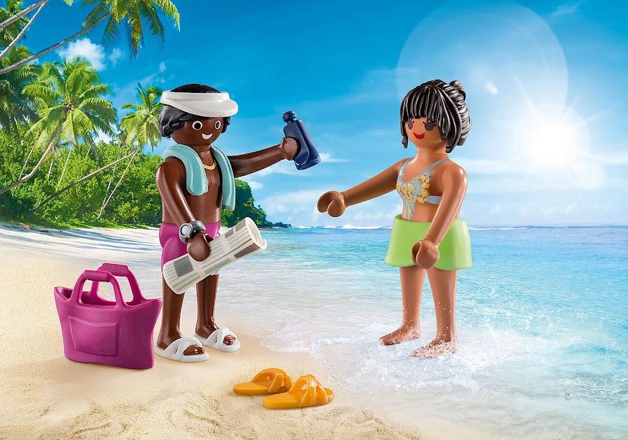 Contenido real de Playmobil® 70274 Dúo Pack Pareja de Vacaciones