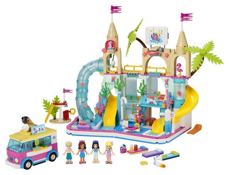 Contenido de Lego® 41430 Parque Acuático Summer Fun