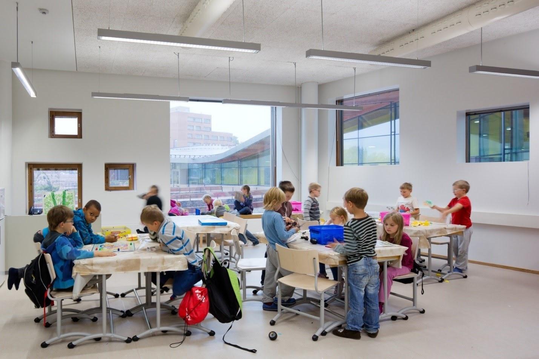 Có chỗ ở có trường cho con khi định cư Phần Lan
