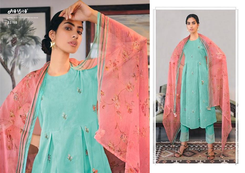 Buy Jay Vijay Rang Bahar Pant Style Ladies Suits Catalog Onl