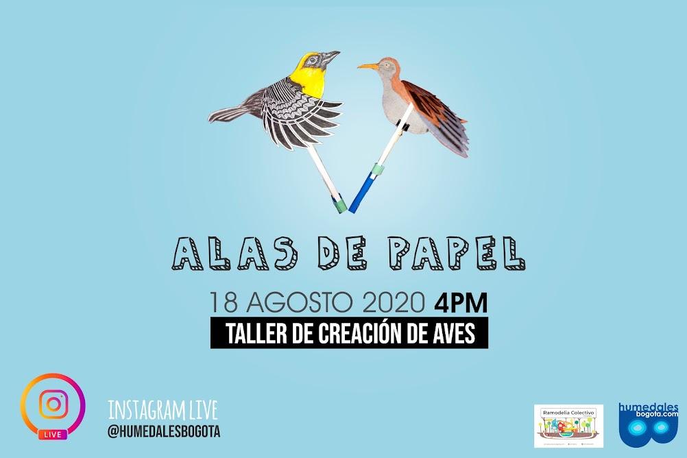 Taller aves de papel