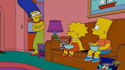 Los Simpsons 19x17 La vaca del apocalipsis