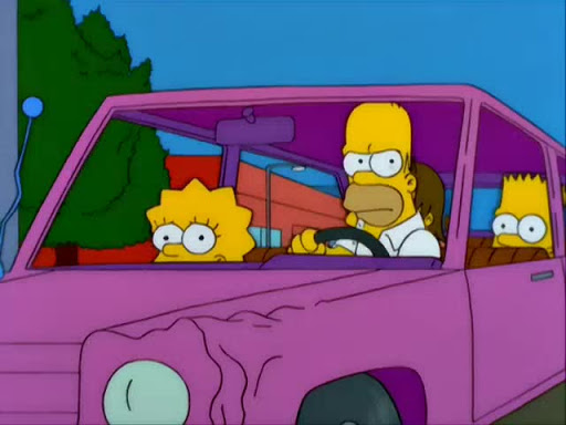 Los Simpsons 11x03 Adivina quién viene a criticar