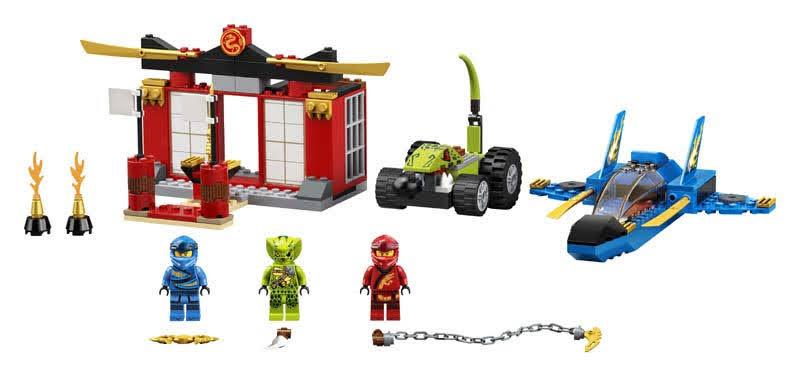 Contenido de Lego® 71703 Batalla en el Caza Supersónico