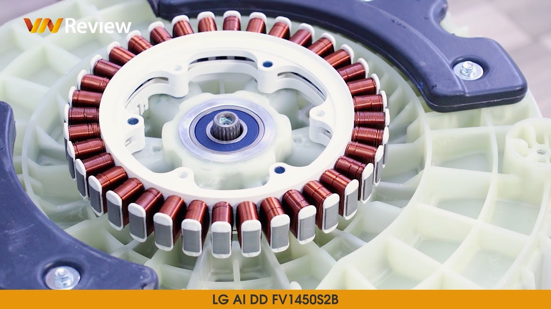động cở máy giặt LG AI DD FV1450S2B