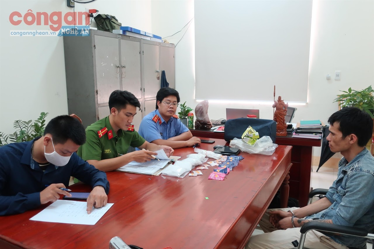 Công an huyện Yên Thành đã đấu tranh có hiệu quả với tội phạm mua bán trái phép chất ma túy