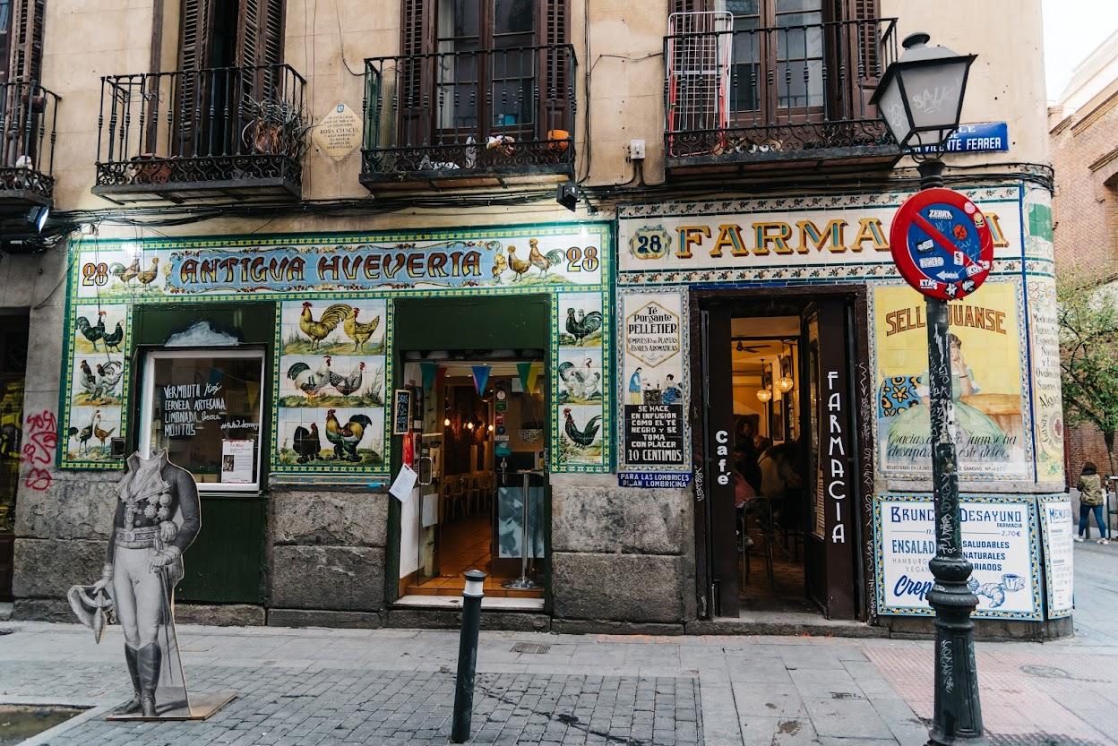 Malasaña lugares que visitar en Madrid