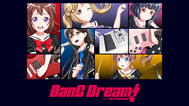 BanG Dream!(バンドリ)(3期)2nd Season 全話アニメ無料動画まとめ