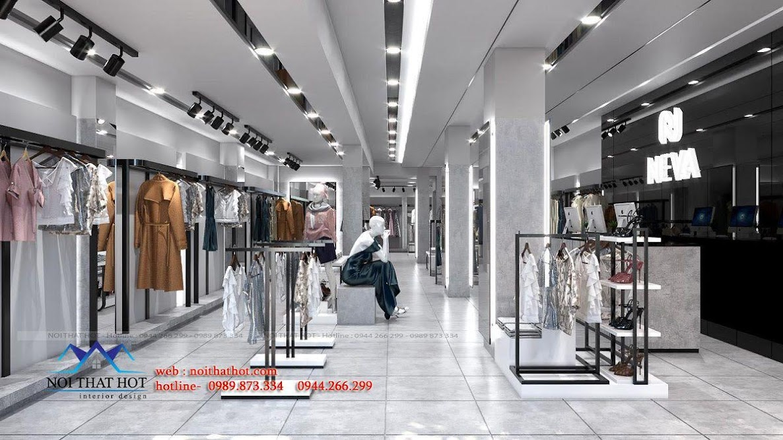 thiết kế shop thời trang hàng