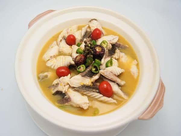 黃金酸湯魚