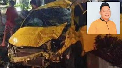 Kecelakaan Maut, Meikel Stiff Maringka Anggota DPRD Manado Meninggal Dunia
