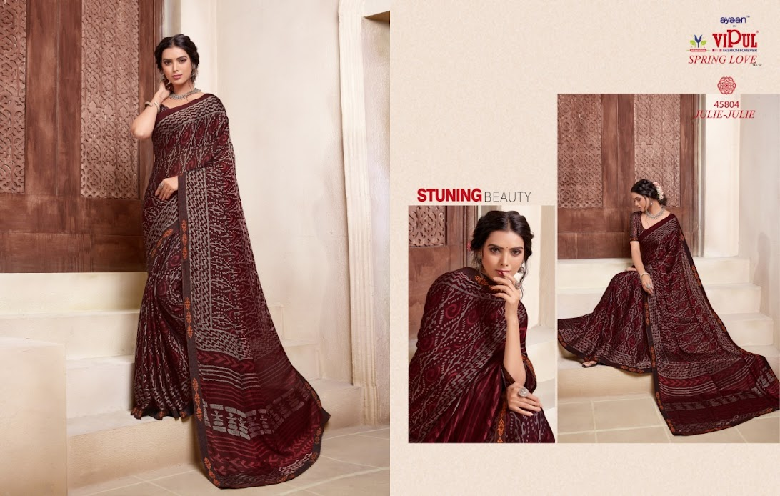Buy Vipul Spring Love Vol 2 Latest Sarees Catalog Online Who