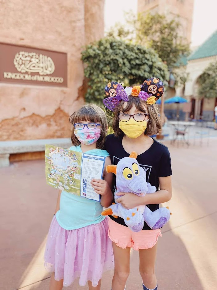 Walt Disney World Updated Face Covering Requirement