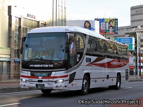 西東京バス「オレンジライナー」 2417