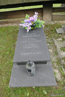 Grób ostatniego hrabiego Tyszkiewicza