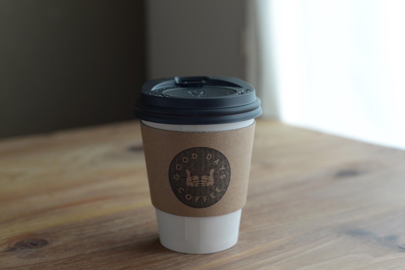 GOODDAYSCOFFEEのホットコーヒー