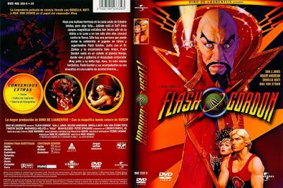 Carátula dvd: Flash Gordon (1980)