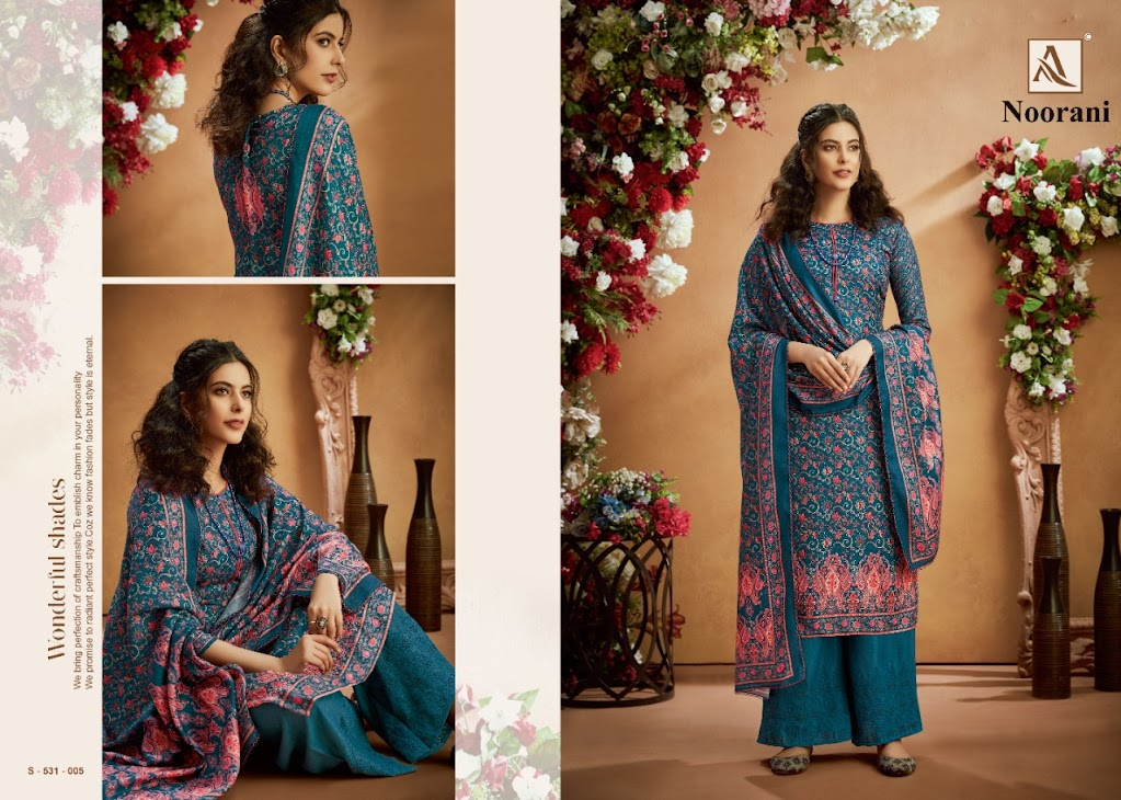 Noorani Alok Pashmina Dress Material Manufacturer Wholesaler