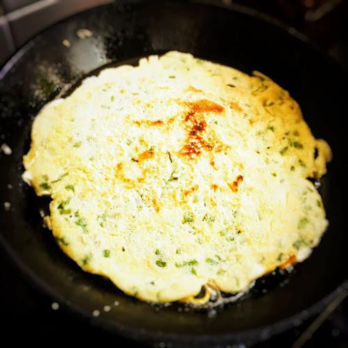 蔥油蛋餅,grandma,egg,recipe,spring onion,蛋餅,Pancakes,chinese