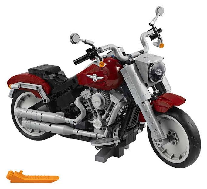 Contenido de LEGO® 10269 Harley-Davidson® Fat Boy®