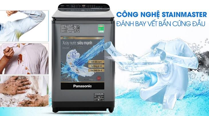 máy giặt của Panasonic có tính năng StainMaster