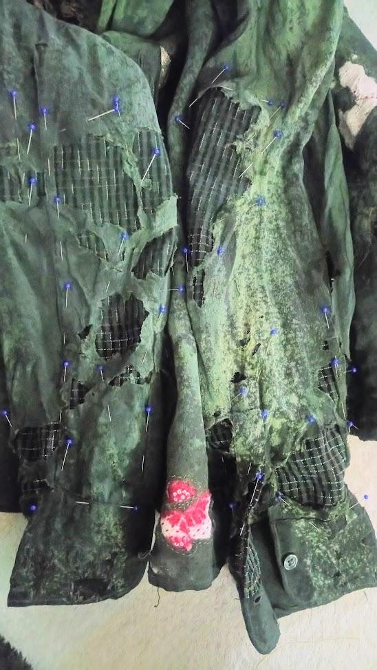 Repairing sleeves - Accidentally Boro Shirt   FAFAFOOM STUDIO