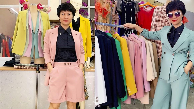 Màu áo vest nữ năm 2020 của Thời Trang Thủy ở Hải Phòng