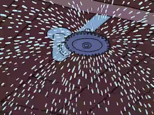 Los Simpsons 13x01 Especial de noche de brujas XII