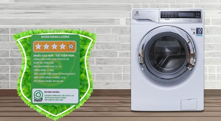 Các tiết kiêm điện cho máy giặt là Dùng tính năng tiết kiệm năng lượng trên máy giặt