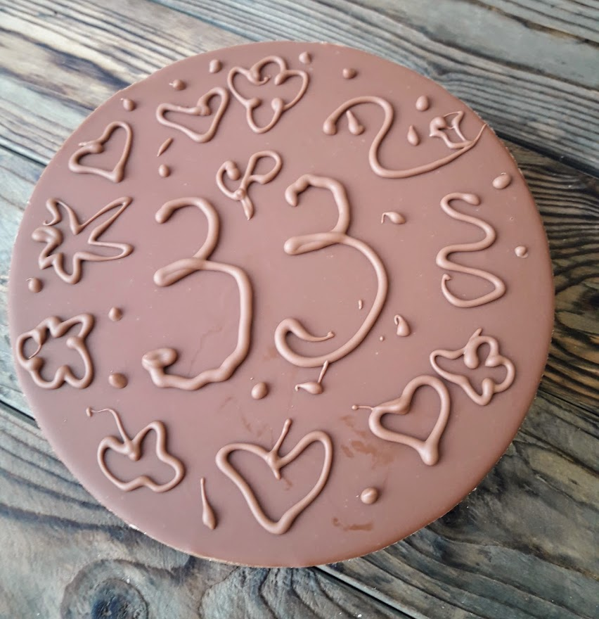 Шоколад на шоколаде
