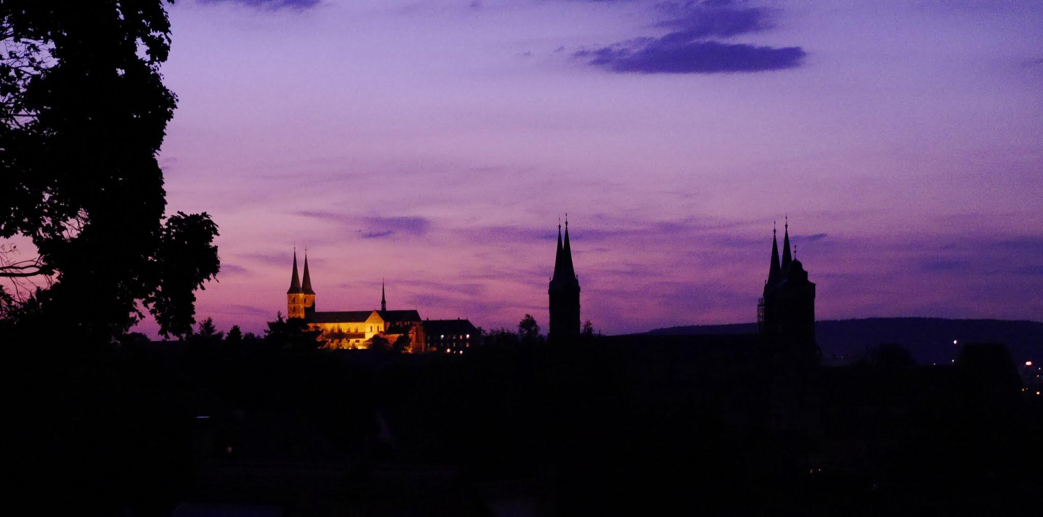 Stadtsilhouette von Bamberg, PB