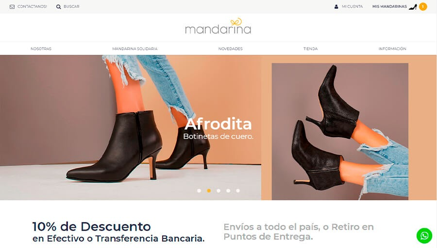 MANDARINA SHOES