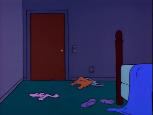 Los Simpsons 4x10 La Primera Palabra de Maggie