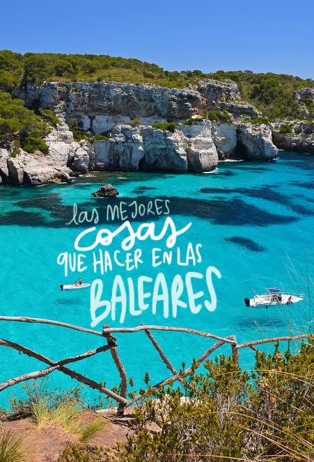 que hacer en Baleares