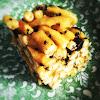 cake, chinese, dessert, pastry, soft flour, egg noodle, Sachima, 沙琪瑪, 薩琪瑪, 馬仔