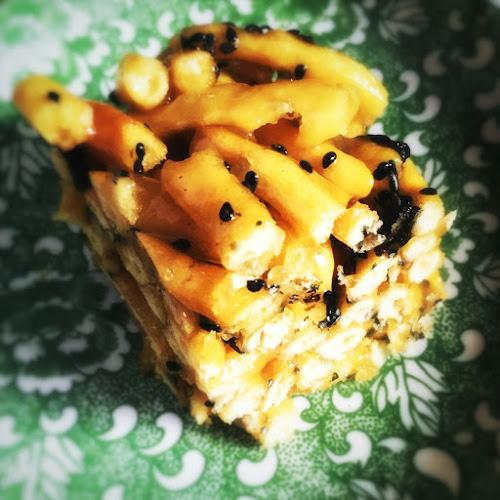 Sachima, cake, fried noodles, chinese, dessert, recipe, pastry, 沙琪瑪, 薩琪瑪, 馬仔