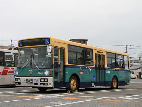 西鉄 那珂川 9375 青バス復刻塗装車_01