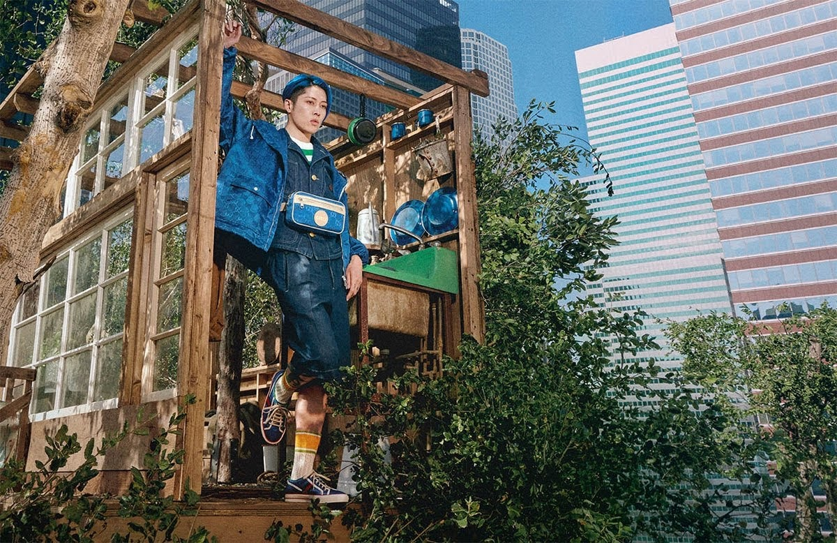Gucci 首次找日本人當模特兒就選 MIYAVI !