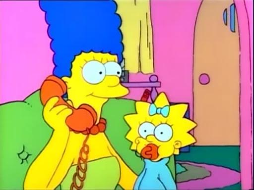 Los Simpsons 1x09 Un Momento De Decision